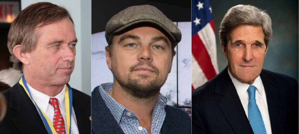 kennedy-dicaprio-kerry-climate-deniers