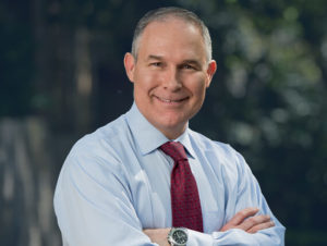 Open Letter Supporting Scott Pruitt for EPA Administrator