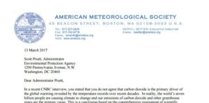 How Ideologues Abuse Power in Professional Associations—Exhibit A: AMS Letter to Pruitt