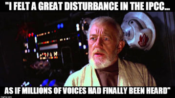 A Great Disturbance in the Force?
