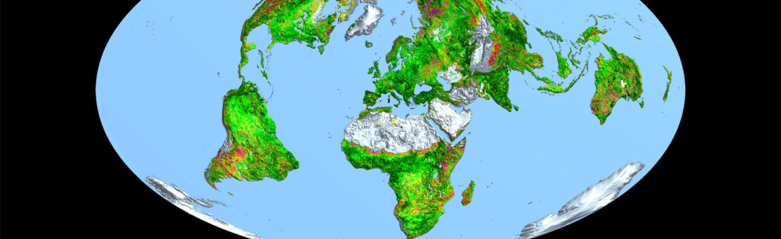 How'd you like to add a new continent of vegetation?