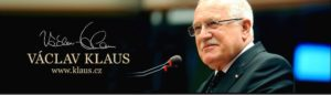 "Václav Klaus: ""Let´s not give up fighting climate alarmism, it is never late!"""