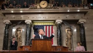 Trump Departs from Mainstream Climate Alarmism in SOTU, Speaks on 'Beautiful' Coal
