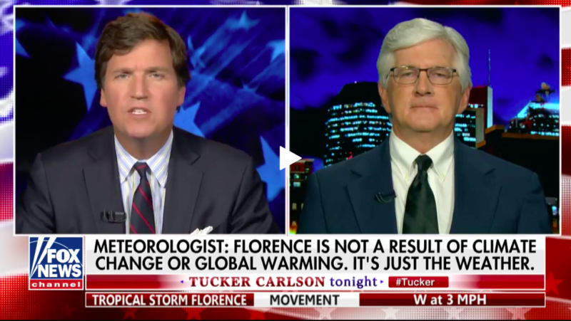 Cornwall's Dr  Roy Spencer Tells Tucker Carlson: Climate Change Is